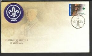 2008 CENTENARY OF SCOUTING limited edition, numbered First Day Cover