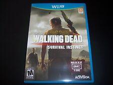 Replacement Case (NO GAME) The Walking Dead NINTENDO WII U 100% Original
