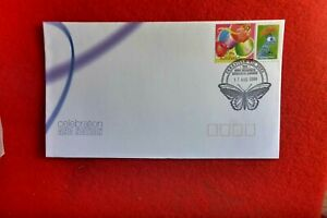 AUST A BUGS LIFE QUEEN DISNEY PIXAR SES STAMP ON COVER PARKVILLE BUTTERFLY PMK