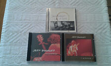 JEFF BUCKLEY 2 CD Lot LIVE AT SIN-E' / THE GRACE E.P. Excellent Conditions