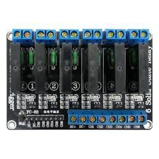 Module Relais à Semi-Conducteur 6 Canaux 12V Carte Mère Pièce de Rechange 2A