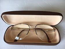 Fratelli Lozza Opti-Fashion Tortoise Eyeglass Frames  56 - 16 - 140 Italy