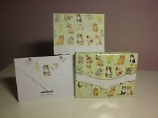 Carol's Rose Garden -  Note Card in carrying case - Kittens & Flowers  (20 pcs)