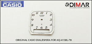 Replacement Vintage Original Sphere / Dial Casio For AQ-415BL-7B