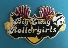 Rare The Big Easy Rollergirls Roller Derby Iron On Hat Jacket Derby Gear Patch