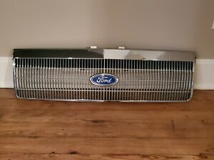 1988-1991 1989 1990 Ford LTD Crown Victoria Front Chrome Grill Guard Grille