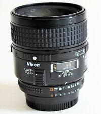 Nikon Nikkor 60mm 2.8 Micro/Macro AF Lens