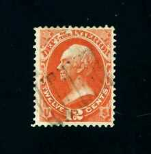 U.S. Scott #O20-12¢ Vermillion Clay Dept.of the Interior Official Stamp Vf Used
