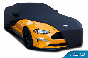 Coverking Moda Stretch Custom Car Cover for 2010-2021 Ford Mustang with Logo