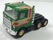 1979 Green Metal Buddy L Mac Semi Tractor toy truck