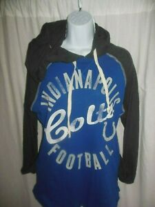 Indianapolis Colts NFL Women's G-III Long Sleeve  Hooded Pullover Shirt Medium