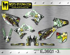 Kawasaki KX 450f  2009 up to 2011 graphics decals kit Moto StyleMX