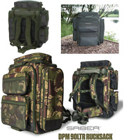 Saber Rucksacks Compact or 90L Bags In Green or Camo Carp Fishing Hiking Camping