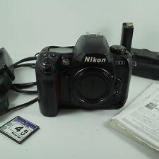 Nikon D100 6.1MP Fotocamera Digitale SLR Solo Corpo Nero