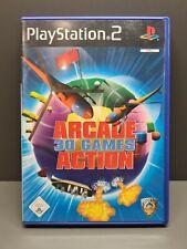 ARCADE 30 GAMES ACTION - SONY - PS2 - PLAYSTATION - OVP - CIB - PAL