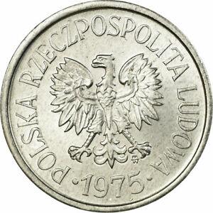 [#319139] Coin, Poland, 20 Groszy, 1975, Warsaw, MS(60-62), Aluminum, KM:A47