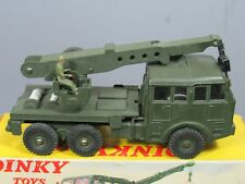 FRENCH DINKY TOYS MODEL No.826 BERLIET MILITARY RECOVERY TRUCK    VN  MIB