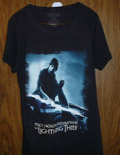 PERCY JACKSON AND THE OLYMPIANS LIGHTNING THIEF 2XL  BLACK SHORT SLEEVES