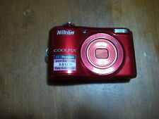 Nikon COOLPIX L28 20.1MP Digital Camera - Red - Parts Only - As Is , no sd card