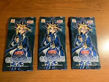 Yugioh LOB Legend Of Blue Eyes OCG Booster Pack Lot  X3