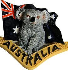 1 x Australian Souvenir Australia Flag Boomerang  Koala 3D Fridge Magnet