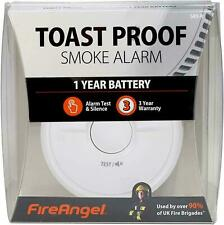 FireAngel Smoke Alarm Sensor Battery Powered Optical Smoke Sensing Alarms SB1-R