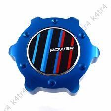 1X BLUE ALUMINUM ANODIZED OIL FILLER CAP FITS BMW 3 4 5 6 7 M SERIES POWER BL RD