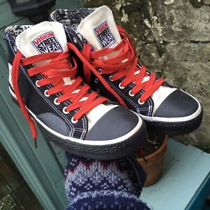 Vision Street Wear High Top Skate Shoes Size 8