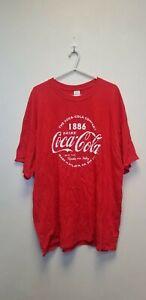 COCA COLA CLASSIC T SHIRT  Short Sleeve  T-Shirt , RED ,SIZE XXL. NEW ##(BB)