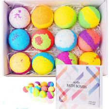 Handmade Bath Bombs Organic bath fizzy with gift box skin moisturize bubble bath