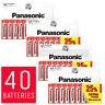 40 x AA Genuine PANASONIC Zinc Carbon Batteries R6 1.5V DOUBLE A Battery