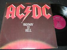 AC/DC Highway To Hell / unique different Cover DDR LP 1981 AMIGA 855838