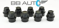 8 NEW BLACK LUG NUT COVERS CAPS CHEVY GMC SILVERADO 1500 2500 FULL SIZE TRUCK