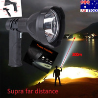 New LED Handheld Camping Spotlight Rechargeable Hunting Torch Fishing Spot Light