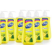 PACK OF 6 DIAL COMPLETE LIQUID HAND SOAP 11oz BOTTLES Lemon & Sage