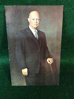 Vintage Postcard Of President Dwight D. Eisenhower