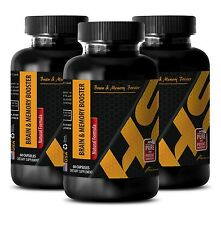 Energy focus BRAIN & MEMORY BOOSTER COMPLEX immune support boost 3 Bottles