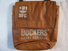 Cool Dockers Khaki Heritage +31 SFC Shoulder Bag / Purse in Light Brown Color