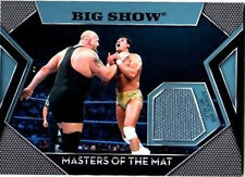 WWE Big Show Topps 2011 Masters of the Mat Event Used Relic Card FD
