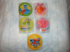 5 Sesame Street Hugs  Stickers Party Favors