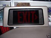 star trek vegas exit sign experience prop
