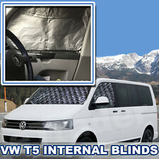 T5 THERMAL BLINDS INTERNAL BLIND KIT 3PCE WINDOW BLINDS VW VOLKSWAGEN QUALITY