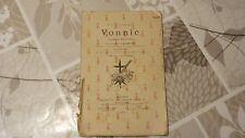 VICOMTE DE JACQUELOT / DÉDICACE  / VONNIC /  1911