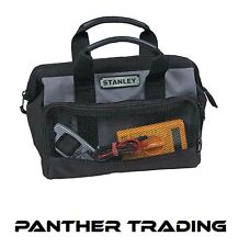 "Stanley Small Toolbag 12"" Power Tool Bag Case Electrician 8 Pockets - 1-93-330"