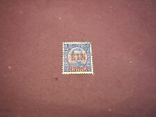 Iceland Stamp Scott# 150 Surcharged in Red 1926 C278