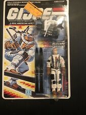 GI Joe BLIZZARD 1988 MOC MOSC Hasbro Vintage Factory Sealed Action Figure