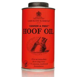 Carr Day & Martin Vanner And Prest Hoof Oil Horse Pony Equestrian Equine Care