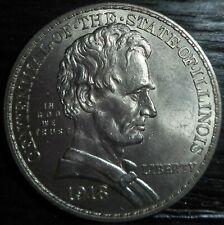 1918 Illinois Commemorative Centennial Silver Half Dollar, Estate Sale .99 Start