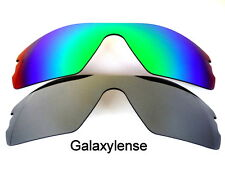 Galaxy Replacement Lenses for Oakley Radar Path Titanium&Green Polarized 2 Pairs