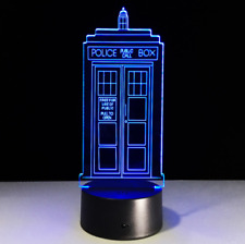 DOCTOR WHO LAMPARA LED LAMP 3D CAMBIO DE COLORES